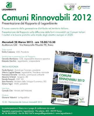 programma comuni rinnovabili 2012