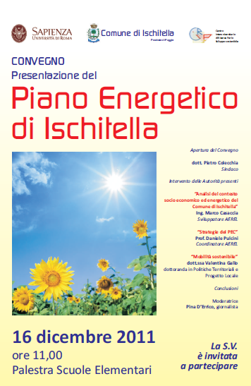 piano energetico ischitella